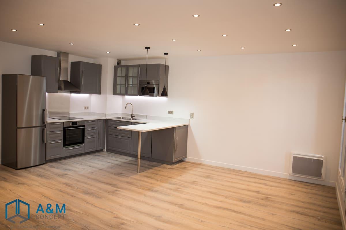 appartement dan saint maurice kiffetonchantier 1 - Rénovation de salle de bain & cuisine à Saint-Maurice