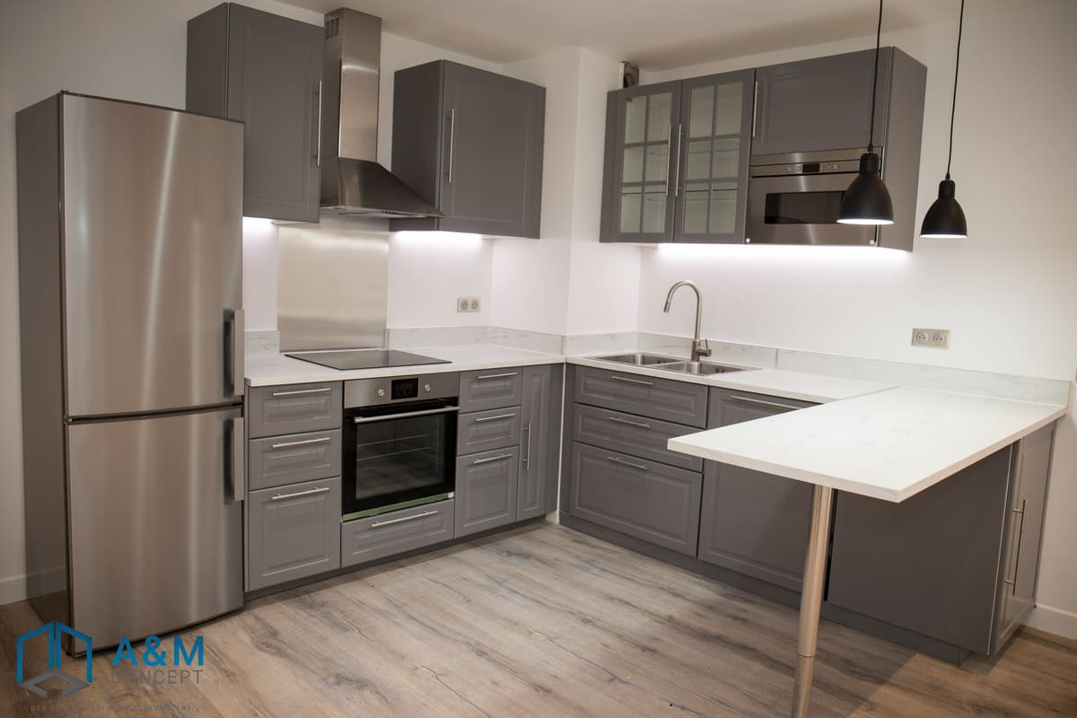 appartement dan saint maurice kiffetonchantier 2 - Rénovation de salle de bain & cuisine à Saint-Maurice