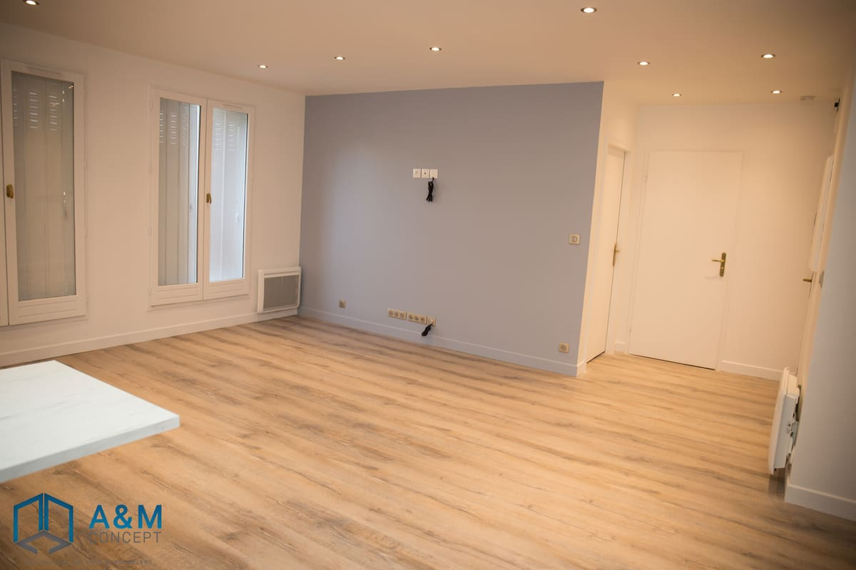 appartement dan saint maurice kiffetonchantier 3 - Rénovation de salle de bain & cuisine à Saint-Maurice