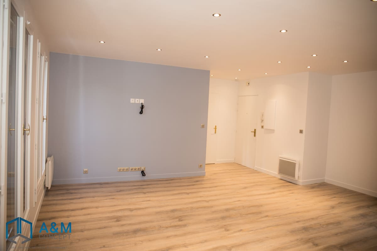 appartement dan saint maurice kiffetonchantier 4 - Rénovation de salle de bain & cuisine à Saint-Maurice