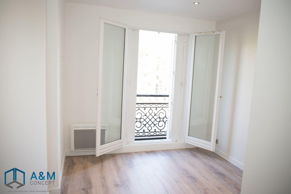 appartement dan saint maurice kiffetonchantier - Rénovation de salle de bain & cuisine à Saint-Maurice