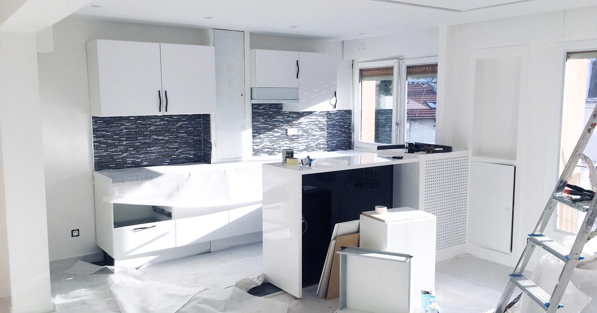 appartement les lilas kiffetonchantier 4 1200x630 - Rénovation & aménagement d'appartement aux Lilas