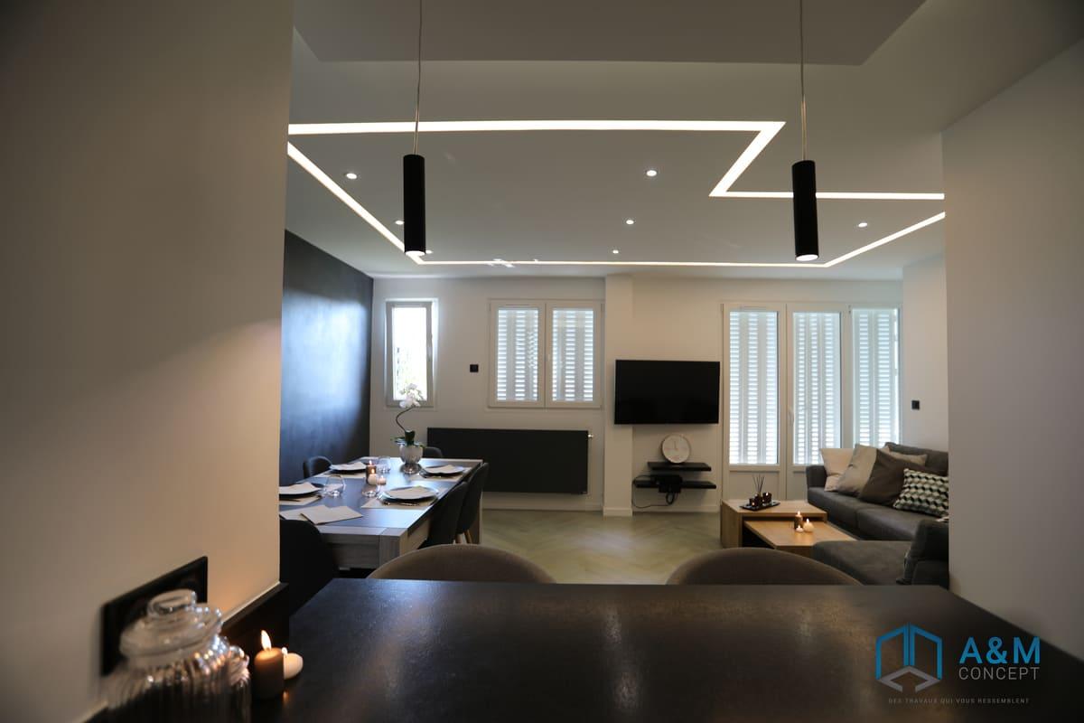appartement saint maur kiffetonchantier 6 - Rénovation complète d'appartement à Saint-Maur-des-Fossés
