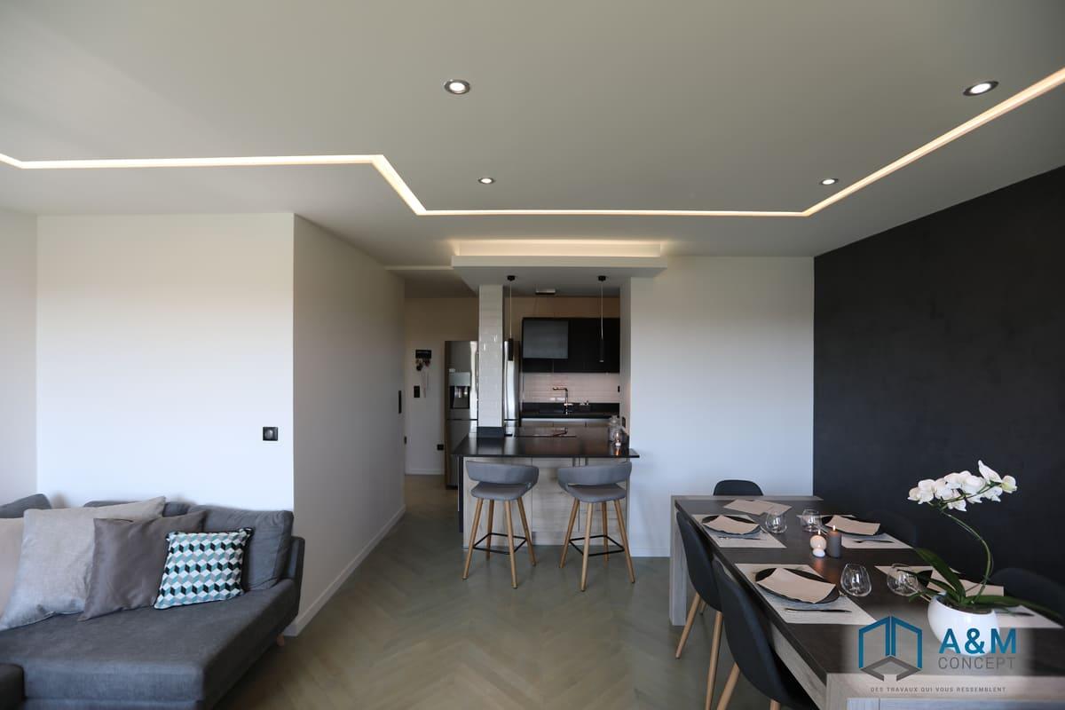 appartement saint maur kiffetonchantier - Rénovation complète d'appartement à Saint-Maur-des-Fossés