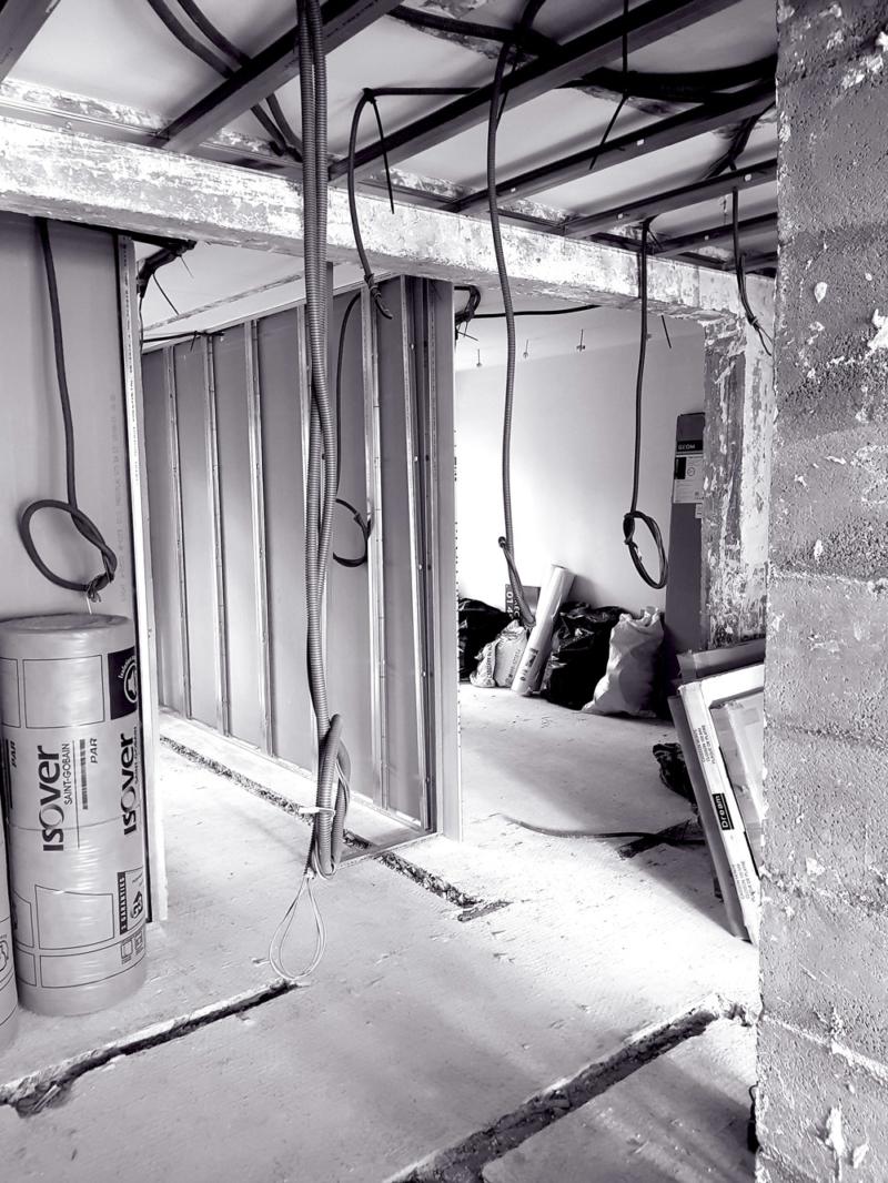 appartement boulogne kiffetonchantier 800x1066 - Rénovation totale & aménagement d'appartement à Boulogne