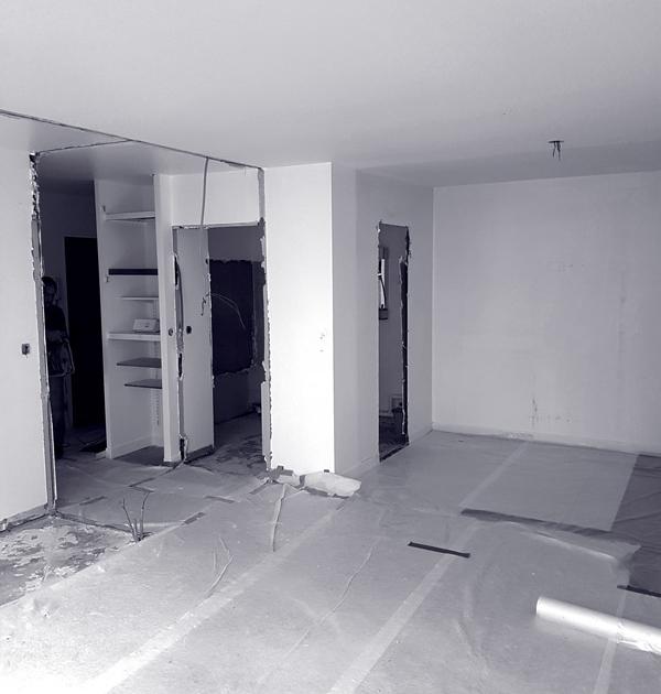 appartement levallois kiffetonchantier 4 600x630 - Rénovation & aménagement d'appartement à Levallois