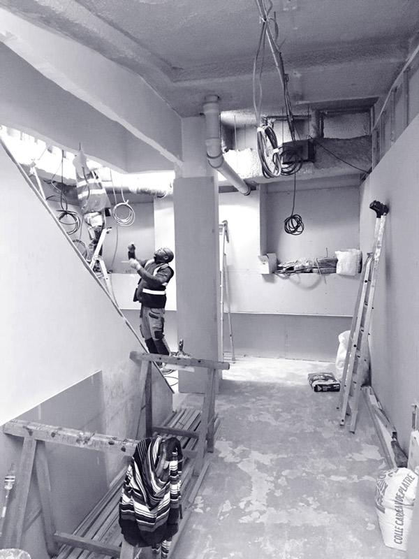 chantier kine kiffetonchantier 1 - Rénovation & aménagement de centre de Kinésithérapie